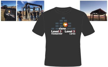T-shirt for Ciena Corp. and partners