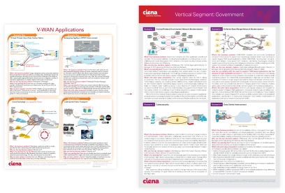 Digital sheet redesign for Ciena Corporation